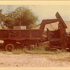 USMC dump truck in major disrepair.