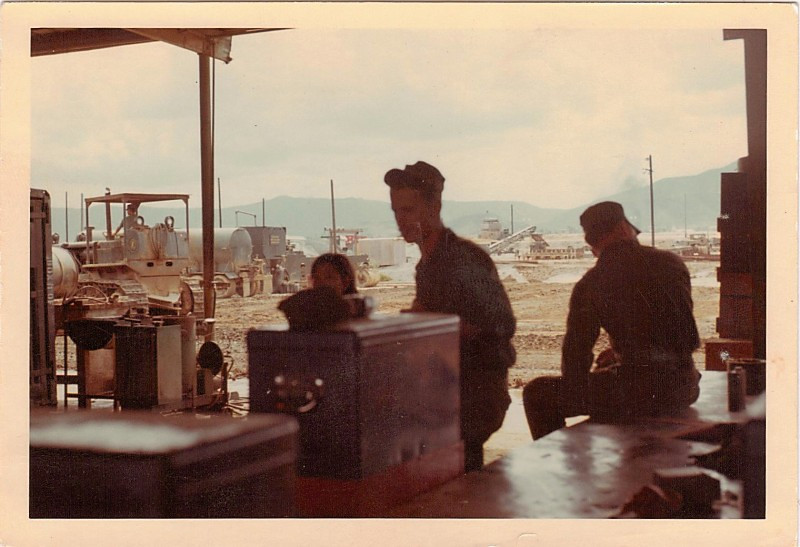 Mechanic's shop, Danang.