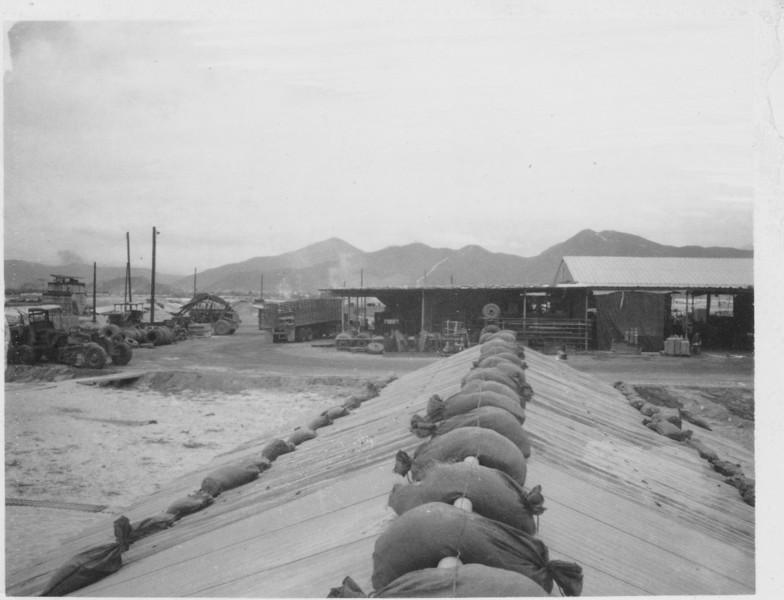 Camp Haskins Tire Shop 1969