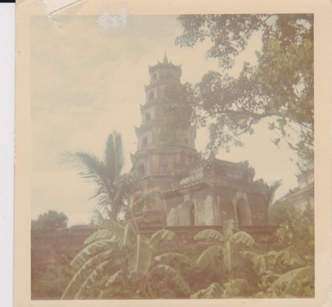 Temple near Hue City-1967