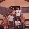 Joey BSA on shirt, Wittaker red shirt, towel Mcdaniels, next to him John