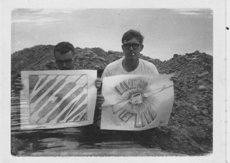 Don Swartout and J. Knaup's drawings
