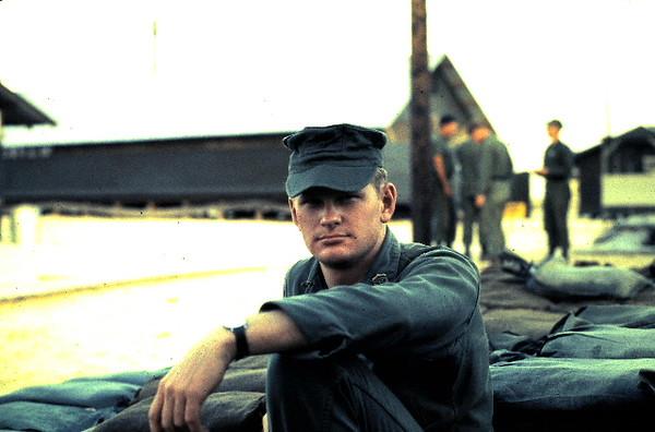 Corpsman Paul Beals Visiting From MCB-11