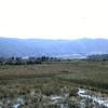 Mountain View Across Rice Paddies At Outskirts Of Da Nang