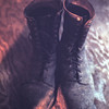RJ's Boots After Returning From An Hoa