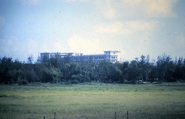 Unfinished Hospital Begun By The French