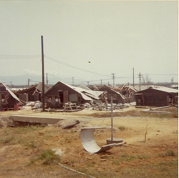 April 1969 Camp Hoover, Danang....Photo Courtesy of Perry Betts