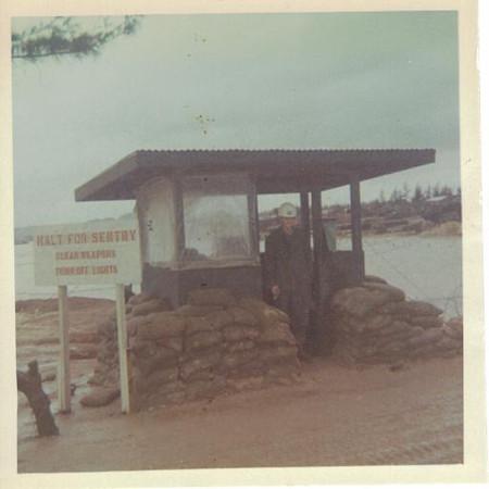 main gate camp adneir. Mcb-5, 1966