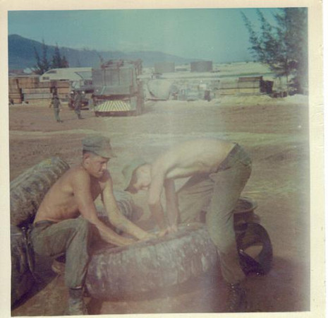 tireshop duty, mcb-5 DaNang 1966