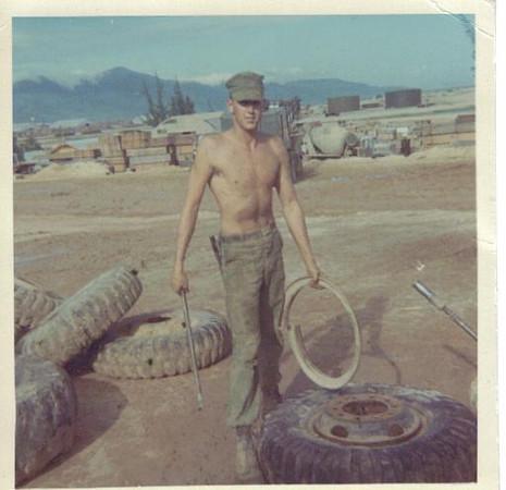 tire shop duty,mcb-5  DaNang 1966
