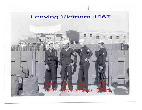 Leaving RVN 1967
