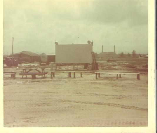 Movie Theater Camp Miller-Chu Lai  67-68