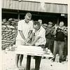 "Cdr. John Paul Jones and ""Bat Mat"" Bell Cut MCB-62's 3rd Birthday Cake"