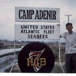 Main Gate Camp Adenir-DaNang..Named for Restituto Poblete Adenir-KIA 28Oct65 in a Heavy Mortar Attack