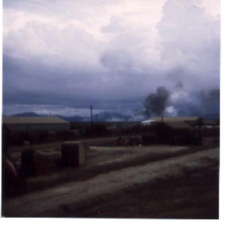 Camp Barnes Under Attack.