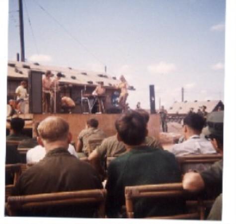 USO At Camp Barnes.  No Bob Hope, But Sure Was A Relief.
