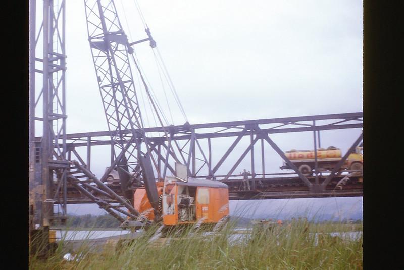 Cau Do Bridge construction south of Da Nang - Dec. '69