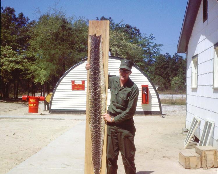 Mike McGough - Camp Le Jeune - Apr. '68