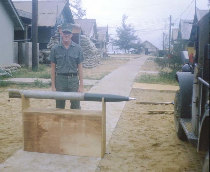 Mike McGough With V C Rocket - Range: 15-20 Miles - Sept. '68