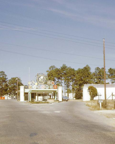 Main Gate - Gulfport, MS - Jan. '68