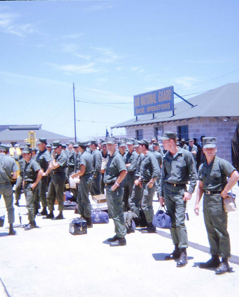 Muster At Airport - June/July '68