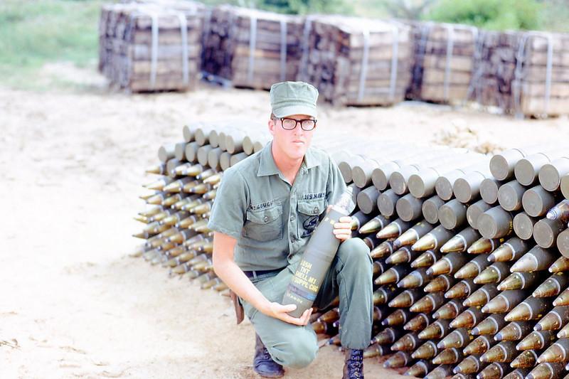 Mike McGough At The Bomb Dump - Sept. '68