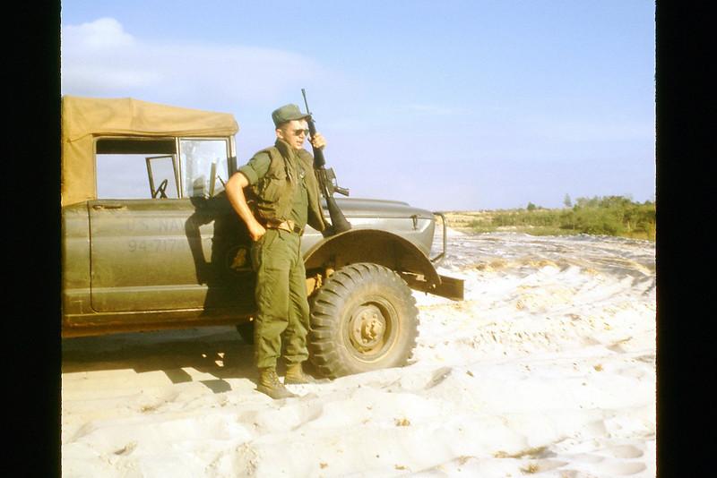 Randy Robertson - 20 Miles South Of Quang Tri At QL-1 - Aug. '69