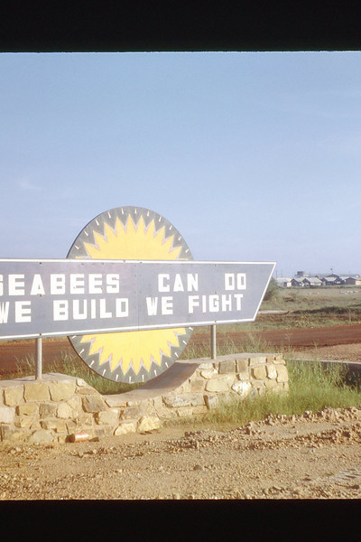 Seabee Sign - Oct. '69