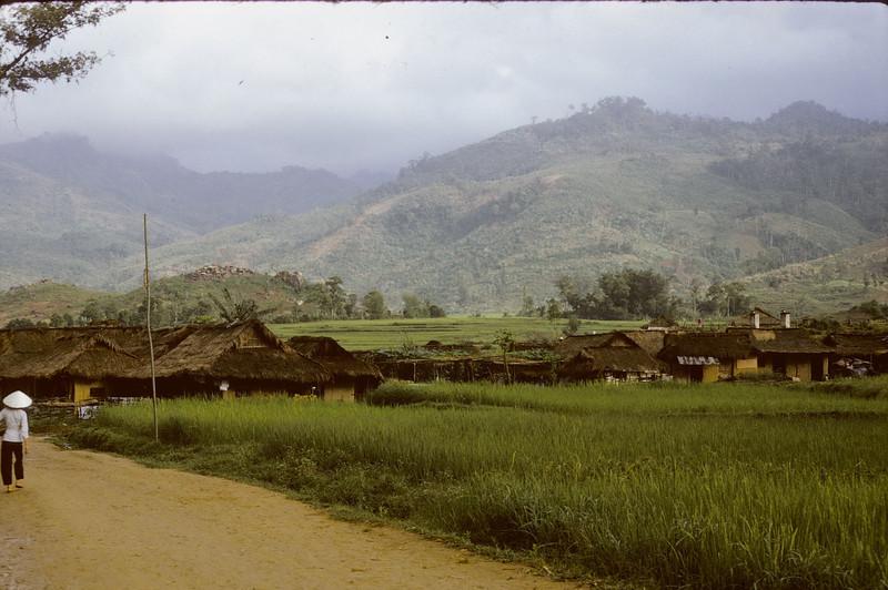 Kontum Province along the Lao border