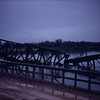 Railroad Bridge Blown by the VC