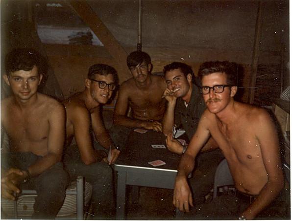 Robertson, Lukanic, Jordan, Schneider, McGough - 04October'69.