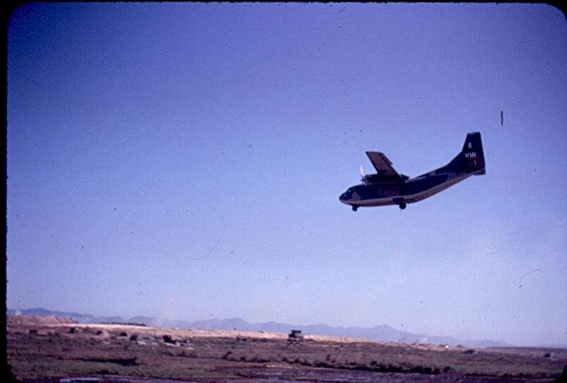 Landing at Dong Ha Combat Base
