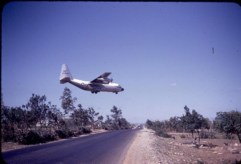 Landing at Dong Ha...Looking South towards Quang Tri