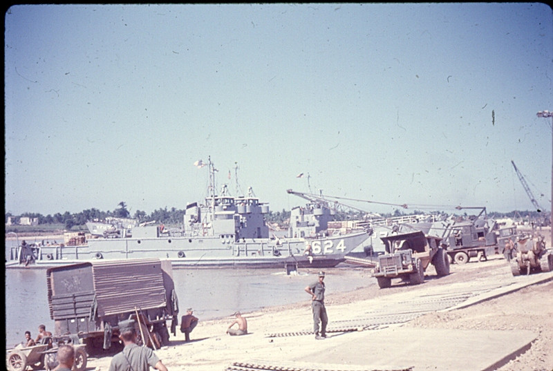 Dong Ha LST Ramp Where Northern I Corp Beer, Soda......and Non-Essentials Were Unloaded