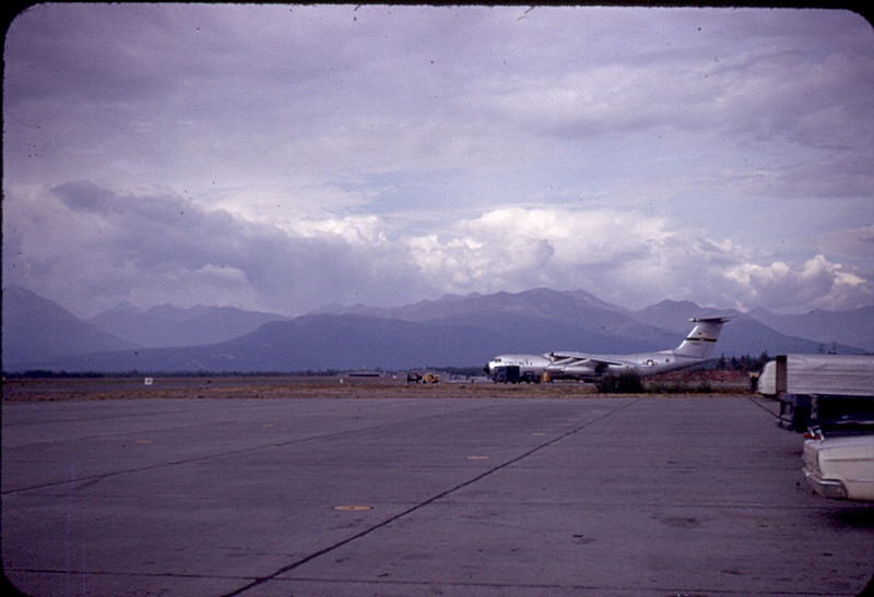 Alaska 8 Hours After Departing Gulfport-<br /> Flight Left Gulfport 6 Hours Before Hurricane Camille...So When this Picture was Shot.....