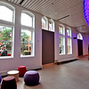Front lobby of the new MCC Academic Arts Center. SUN/David H. Brow