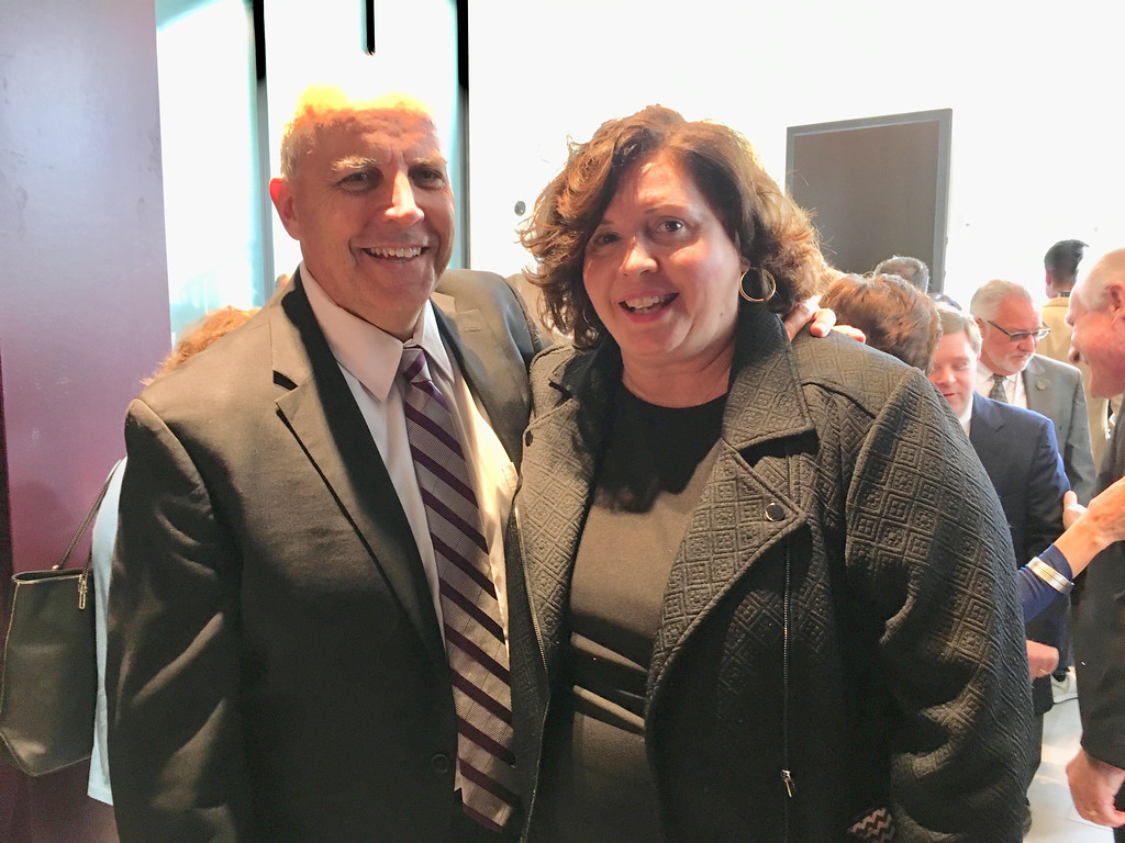 . MCC\'s Patrick Cook of Lowell and Judy Burke of Pelham