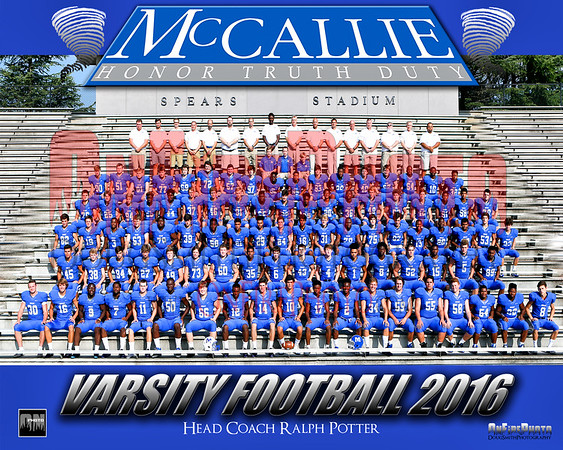 A2 - MCCALLIE TEAM PHOTO 2016