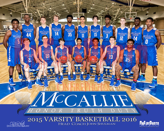 MCCALLIE BASKETBALL 2016