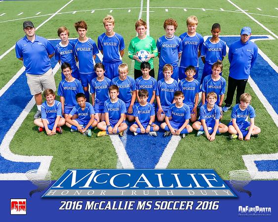 MCCALLIE MS SOCCER 2016
