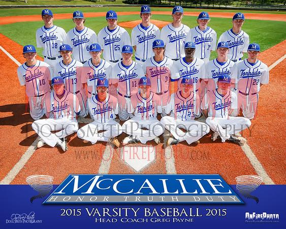 MCCALLIE BASEBALL 2015