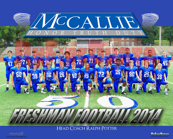 MCCALLIE SCHOOL FOOTBALL 2014