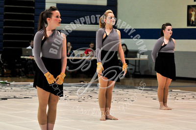 Blue Valley West Winter Guard