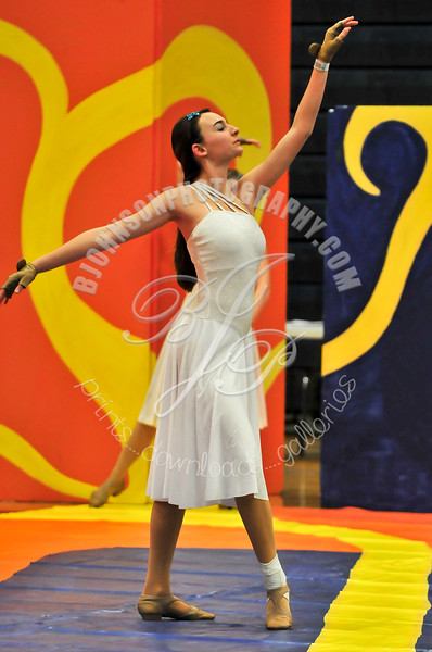 Francis Howell HS Winter Guard