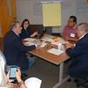 Commissioners John Portela, Elizabeth Hite, Mandela Gardner, Ross Cunningham