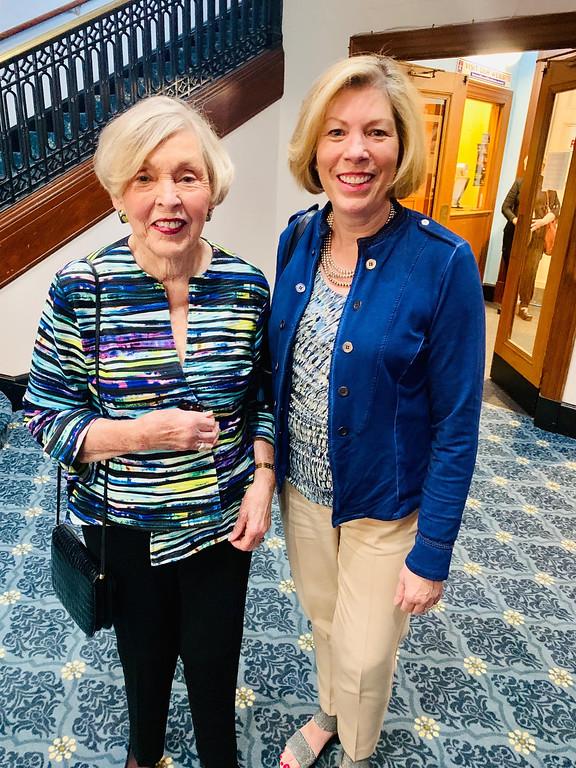 . Dorothy Sullivan and daughter Dottie Semonian of Westford