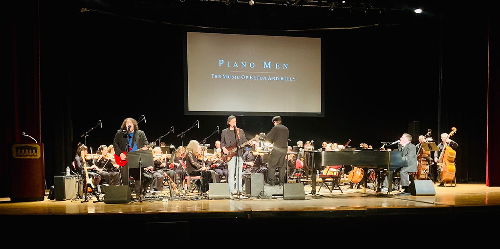 . The Piano Men featuring a 30-piece orchestra led by MCC faculty guest conductor Orlando Cela