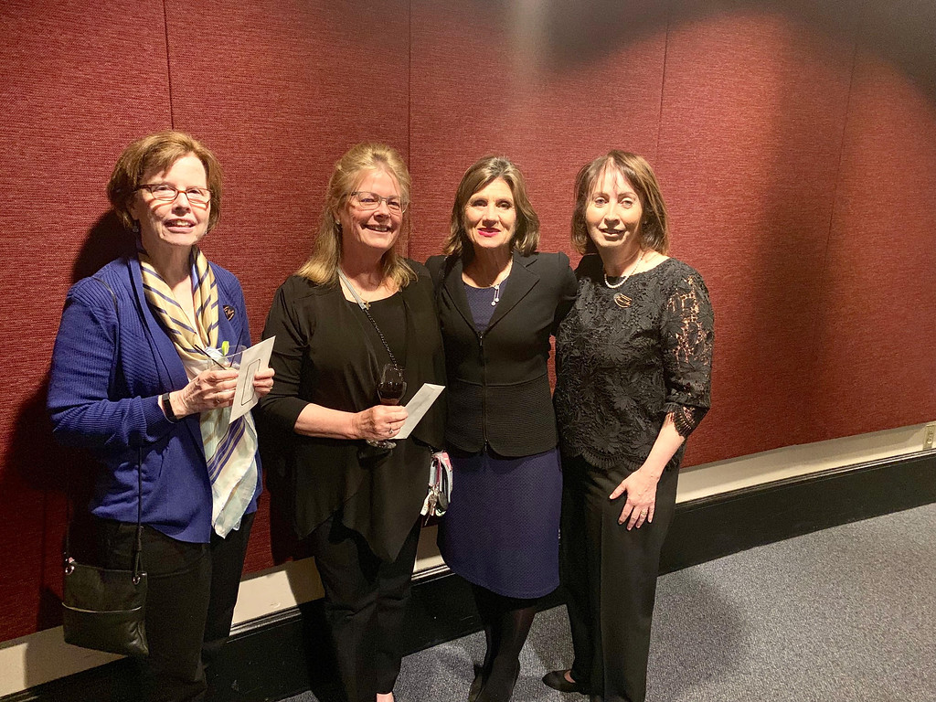 . From left, Kathy Kilingman of Chelmsford, Kathy Gianis of Lowell, Glorianne Demoulas of North Andover and Ann Murphy of Andover