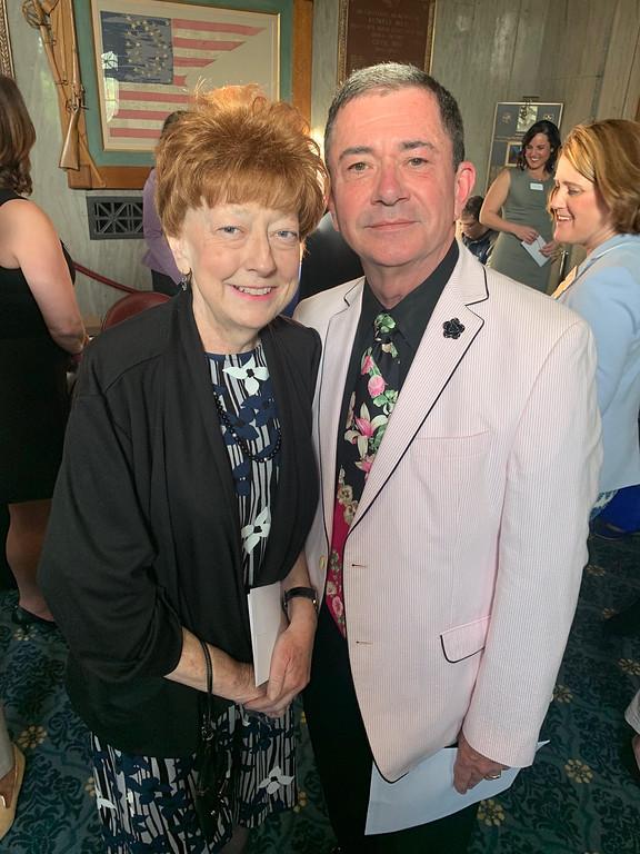 . Mary and Joe Pyne of Lowell