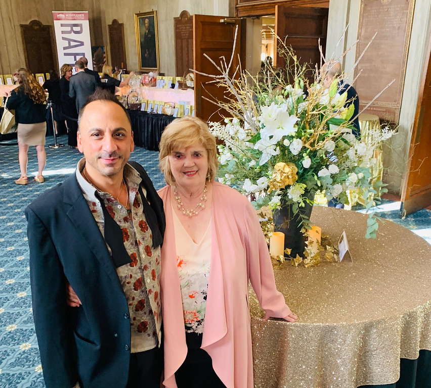 . The designers for the evening, Mark Caputo of Lowell, owner of MC Lifestyles, and MCC Advancement Design Consultant Elaine Crandall-Burt of Dunstable